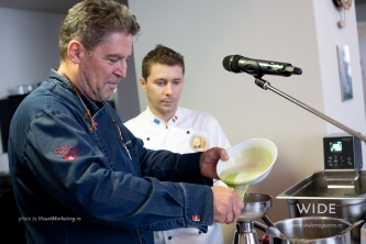 Live cooking Mica Elvetie 2013 Jakob Hausmann - Master in culinary art