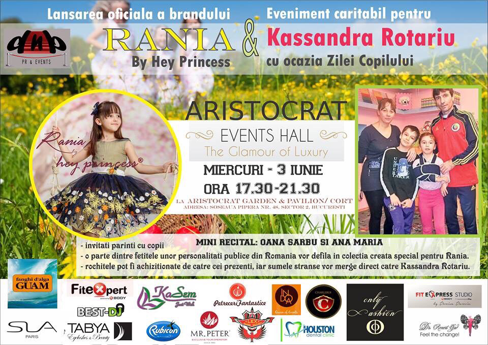 event caritabil RANIA BY HEY PRINCESS