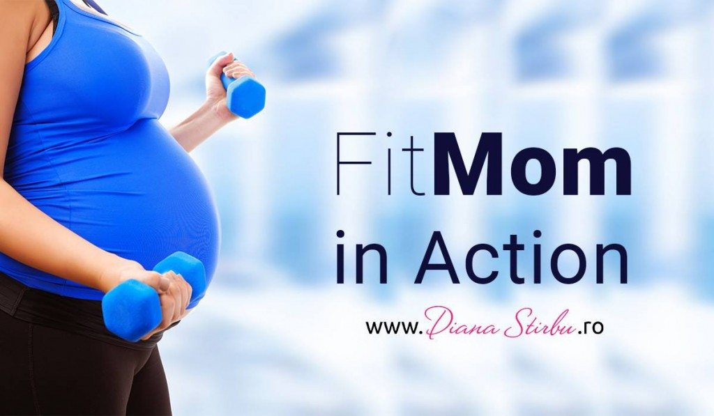 Fit Mom in Action by Diana Stirbu