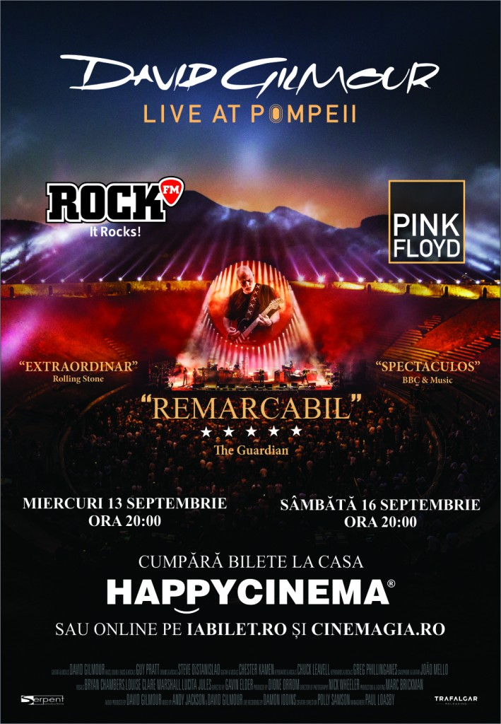 Concert David-Gilmour Live At Pompeii la Happy Cinema