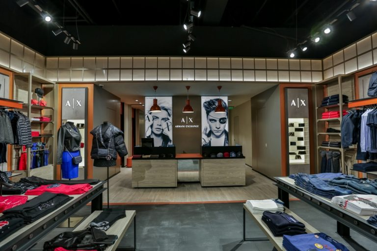 Armani Exchange_Baneasa Shopping City