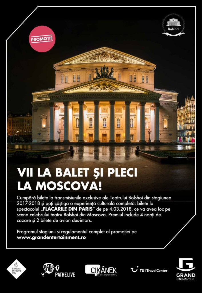 Grand Cinema & More - promotie Bolshoi