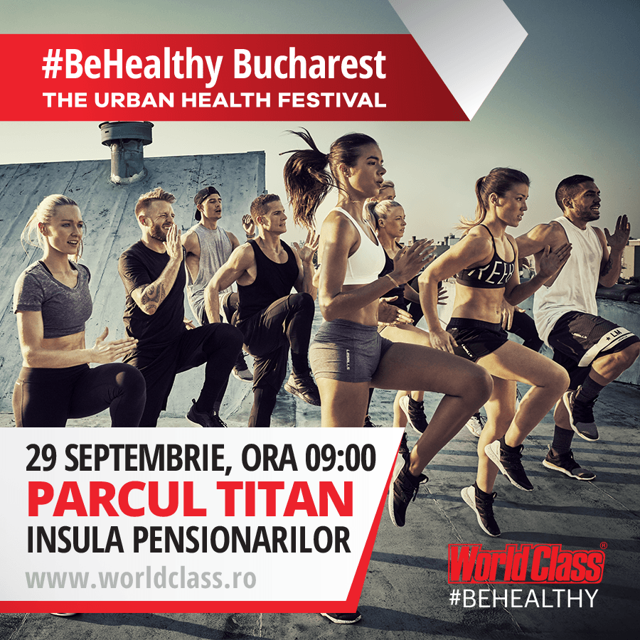 #BeHealthy_Bucharest