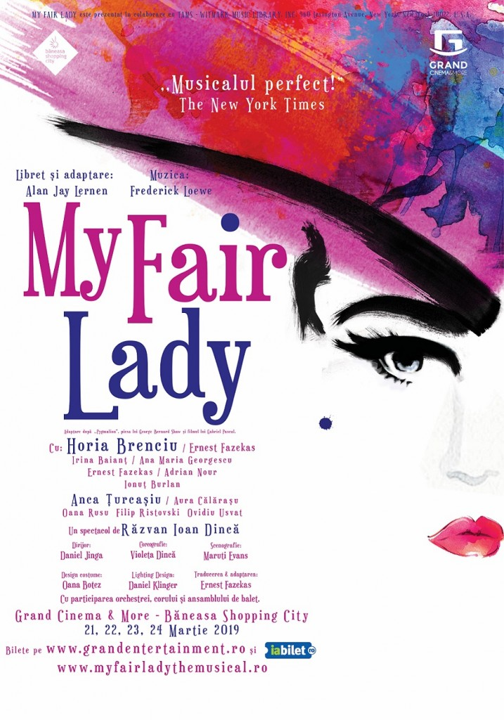 Afis - My Fair Lady Grand Cinema & More