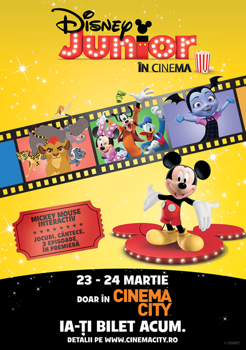Disney Junior Cinema Party Cinema City