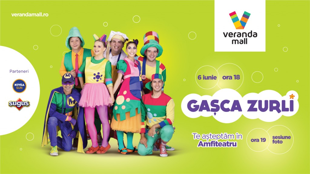 Gasca Zurli eveniment Veranda Mall