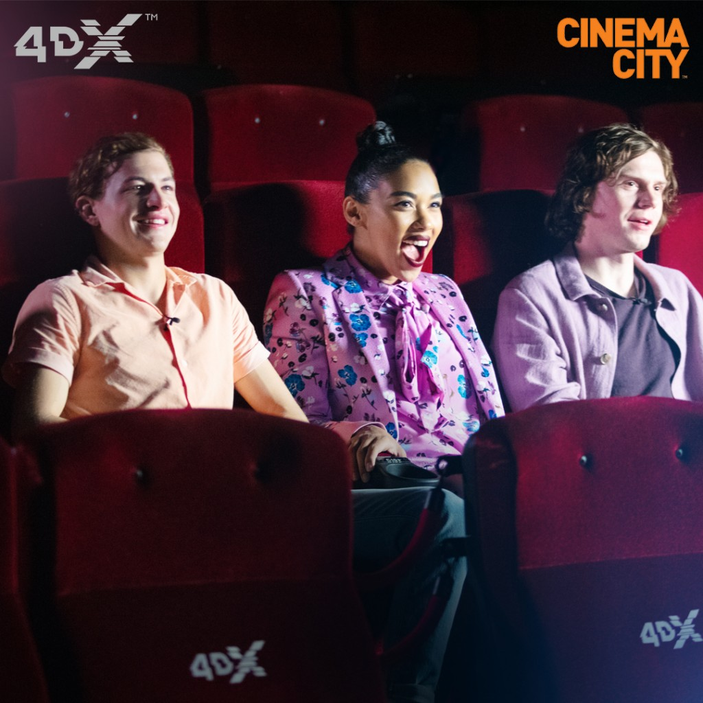 X-Men in 4DX