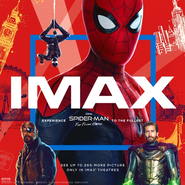 Spider-Man FH_IMAX Poster