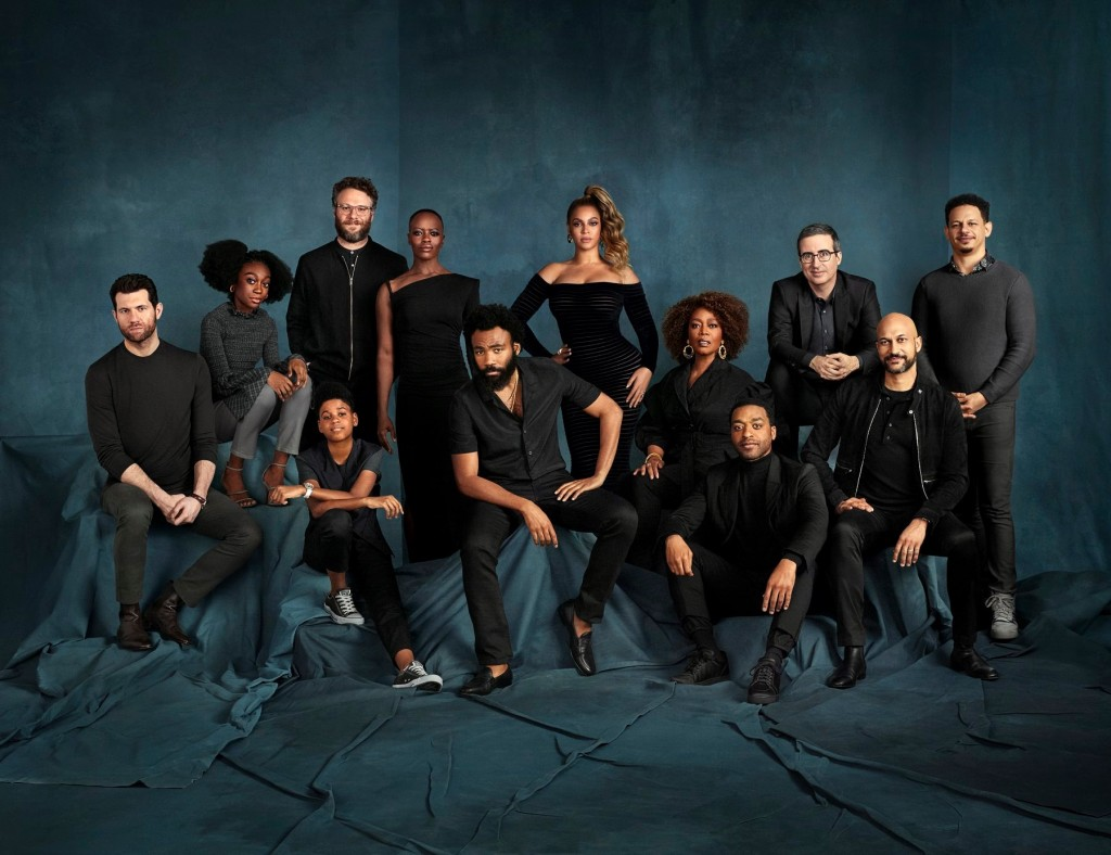 foto The cast of The Lion King