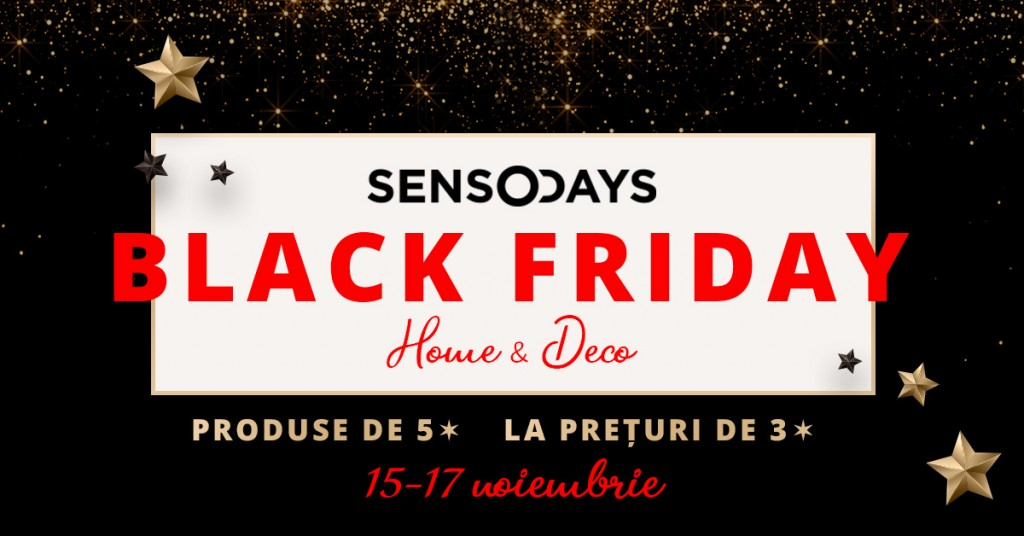 Black Friday - SensoDays